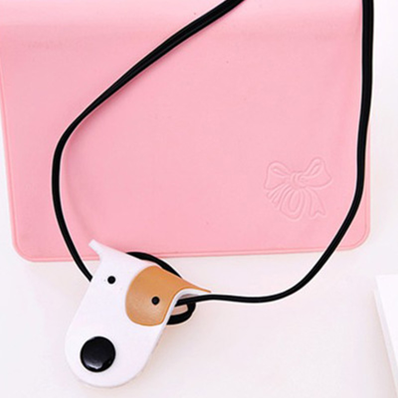 Image 3 - 1pcs Cartoon USB Cable Bites For Cable Protection Cute Iphone Accessory Animal Protector Data line Winder Cord Data Protect-in Cable Winder from Consumer Electronics