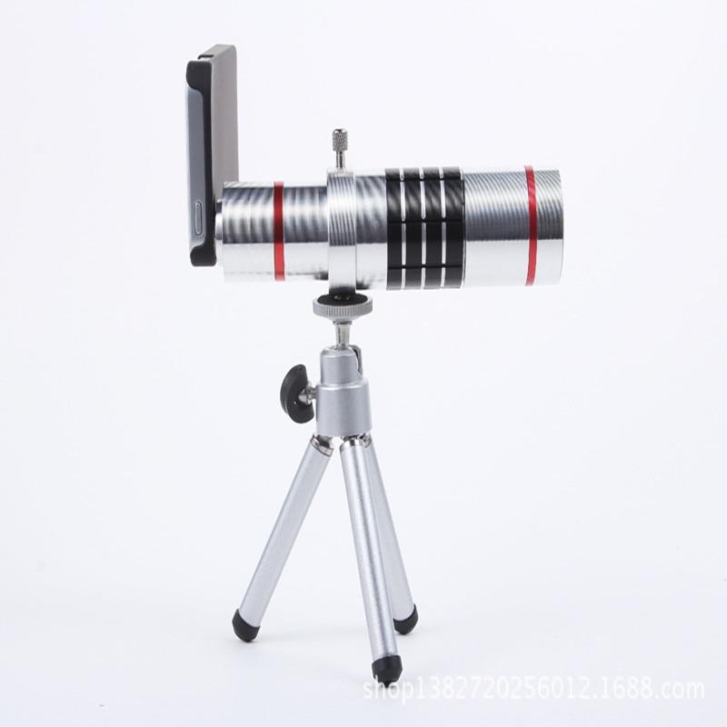bilder für Universal-Clip Auf 18X Teleobjektiv Handy Bildschirmlupe Optisches Zoom-objektiv Teleskop-kamera Für iPhone für Sumgung smartphone