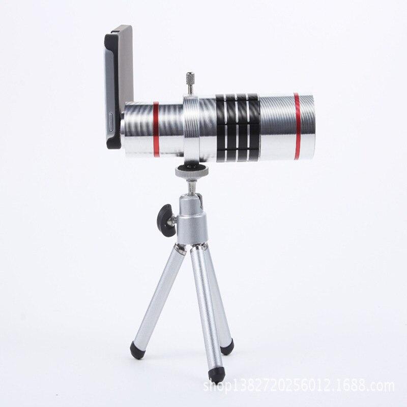imágenes para Universal Clip de 18X Teleobjetivo Lupa Lente de Zoom Óptico de Cámara Del Telescopio Del Teléfono Móvil Para el iphone para Sumgung smartphone
