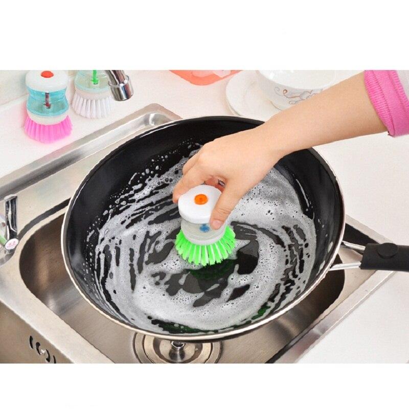 Cleaning Kitchen Utensils: Kitchen Washing Utensils Pot Dish Brush With Washing Up