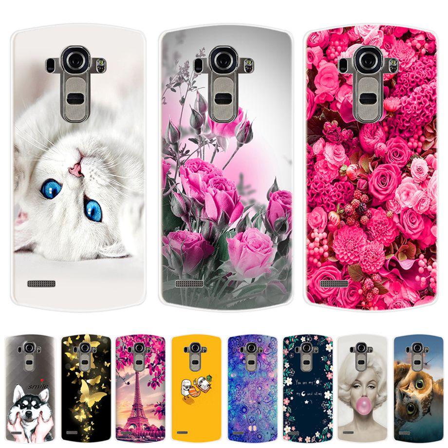 Soft TPU Case For Coque LG G4 Case Cover Silicone Painted Phone Cover For Protector LG G4 G 4 H815 H818 Bumper Case Capa Fundas image
