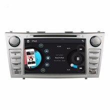 """HD 2 din 8 """"Rádio do carro DVD Player para Toyota Camry 2007-2011 Com GPS de Navegação Bluetooth IPOD TV SWC AUX EM"""