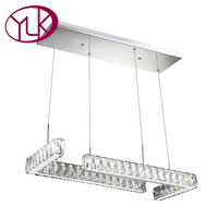 Youlaike Modern LED Chandelier Lighting For Dining Room Creative Design Living Bedroom Hanging Light Fixture LED