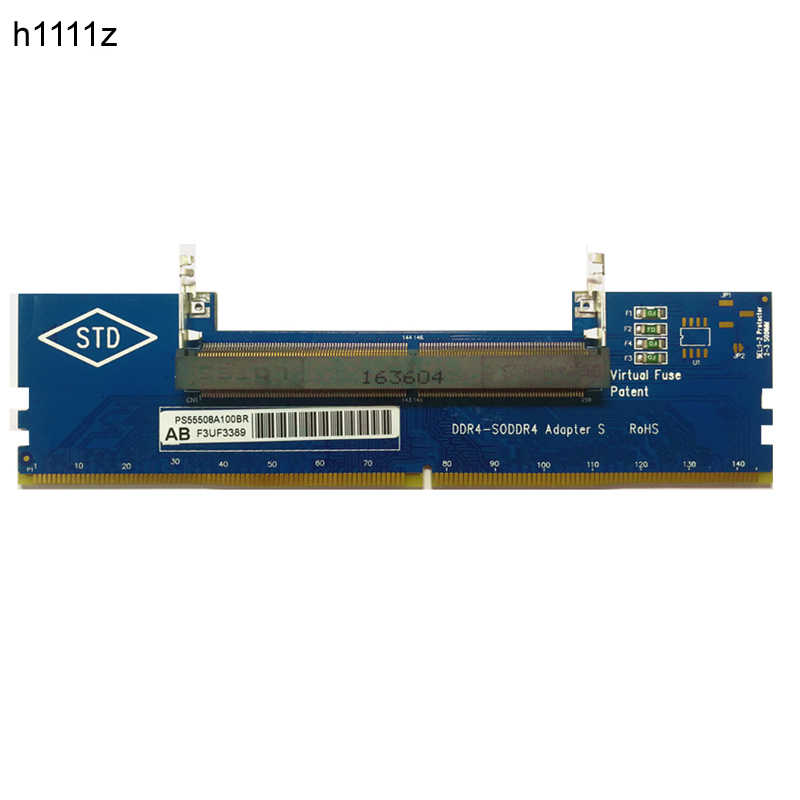 Computer Components DDR4 Laptop SO-DIMM to Desktop DIMM Memory RAM Connector Adapter Desktop PC Memory Cards Transfer Adaptor