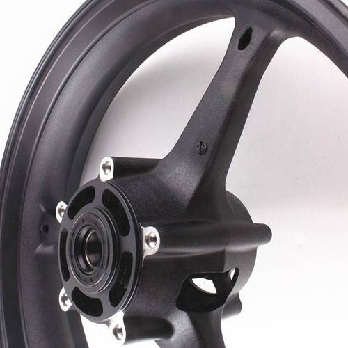 Motorcycle Front Wheel Rim For Suzuki GSXR 600 GSXR 750 K6 2006-2007 GXSR1000 K5 K7 2005 2006 2007 2008 Aluminum Alloy Black (3)