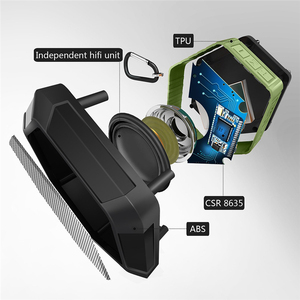Image 5 - M & J altavoz resistente al agua IP67 con Bluetooth, Subwoofer, Mini Altavoz inalámbrico portátil potente para teléfono al aire libre, Funciona con agua