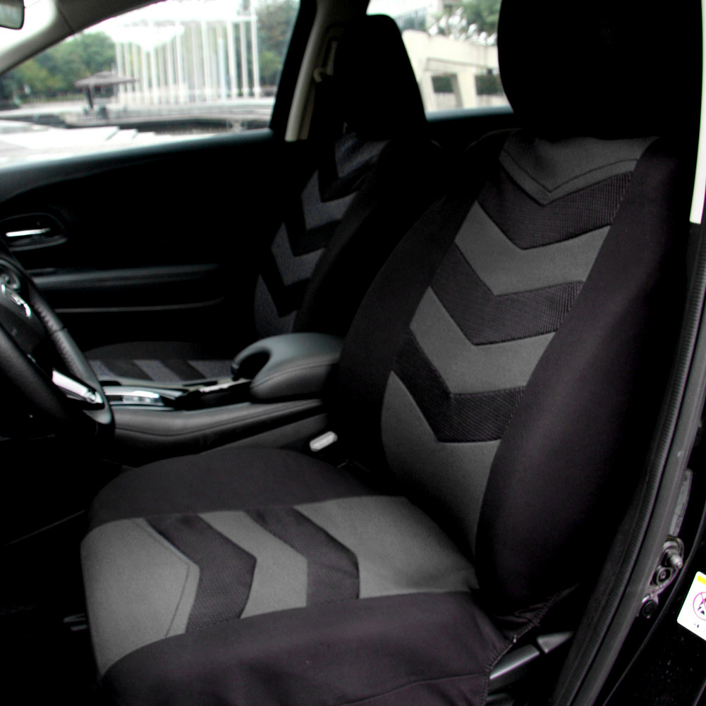 Universal Car Seat Cover Set 9Pcs Seat Covers Front Seat Back Seat