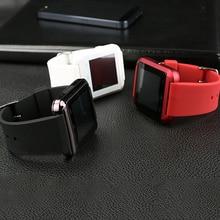 Anruf Bluetooth Elektronik Smart Uhr U8 Inteligente Armbanduhr Smartwatch für IOS Android Tragbare geräte iPhone Samsung HTC