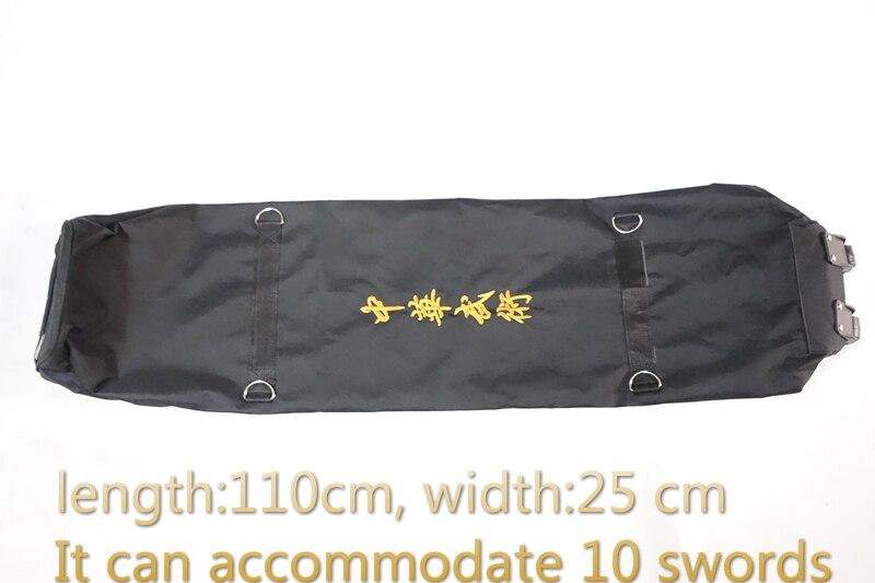 Japonais katana épées sac 110 cm, sur une variété de équipements d'arts martiaux paquet Grande capacité épée sac groupe épée sac