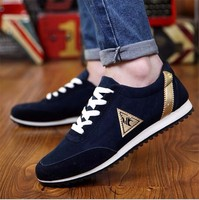 2017 Top Quality New Mens Casual Shoes Canvas Shoes For Men Man Red Black Bule Outdoor