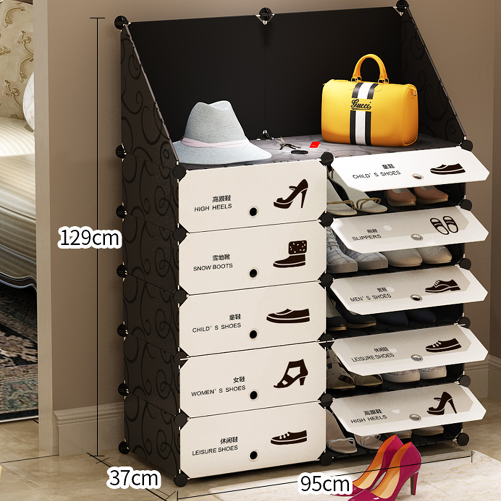 Furniture Shoe Cabinet Shoes Racks Storage Large Capacity Home large organizer removable shoe storage for home shoe cabinet цены