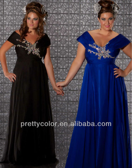 The Evening Long Dresses Plus Size Prom Dress Off The Shoulder Royal