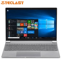 Teclast F15 Тетрадь 15,6 ''Windows Intel N4100 4 ядра 1,1 GHz 8 GB Оперативная память 256 GB SSD 1.0MP Фронтальная камера Micro HDMI 5500 mAh ноутбуки
