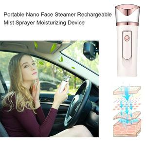 Image 3 - Rechargeable Nano Face Steamer Mister Facial Sprayer Beauty Sauna Hydrating USB Ultrasonic Humidifier Skin Care Tool