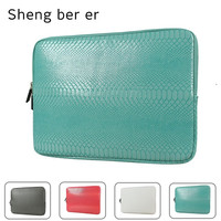 Hot Leather Sleeve Case 10 12 13 14 15 15 6 Inch Bag Pouch For Ipad