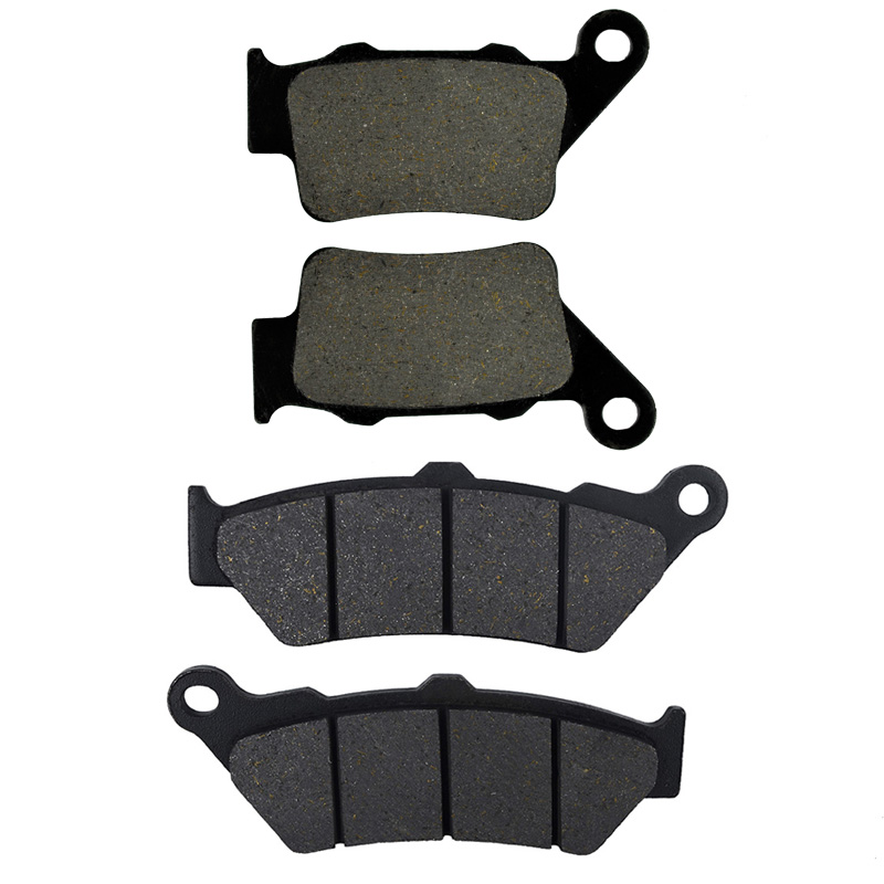 Motorcycle Front and Rear Brake Pads For YAMAHA XT660R XT 660R XT 660 R 2004 2005 2006 2007 2008 2009 2010 2011 2012 2013 for yamaha xt660r xt 660r xt 660 r 2004 2008 2007 2006 2005 cnc motorcycle folding extendable high quality clutch brake levers