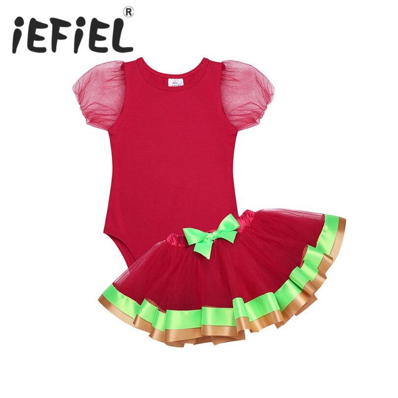 f423b1dfcb79 Baby Girls My First 1st Christmas Birthday Outfits Romper Stars Tutu ...