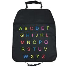 ABCD Letter Car Seat Back Cover and Storage Bag