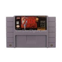 Nintendo sfc/snes игры картридж консоли карты легенда о zelda ссылка на прошлом сша английский языковая версия