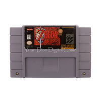 Nintendo SFC SNES Video Game Cartridge Console Card The Legend Of Zelda A Link To The