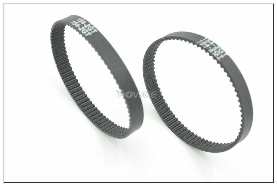 POWGE 140/150/154 Correia Dentada W = 2GT 3/6/9mm Dentes 70/ 75/77 GT2 Closed-Loop Correia Síncrona 140-2GT 150-GT2 154-2GT 3D Impressora