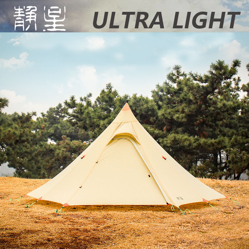 ASTA 2019 new arrival ultra light hexagon design 20d silnylon outdoor 3 seasons 1 person 2