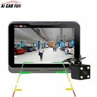B90s Plus Car Camera DVR Dual Lens Dashboard Full HD 1080P 170 Degree 4.3 LCD Dash Cam + Rear Camera Video Recorder