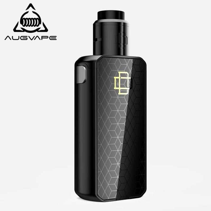 Augvape Druga Foxy Electronic Cigarette Kit Quick Release Patent Druga RDA 150w Dual 18650 Battery VV