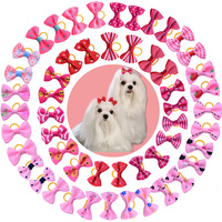 10 20 30 50pcs Manty Styles Pet Dog Grooming Accessories Small Dog Hair Bows Cat Hair