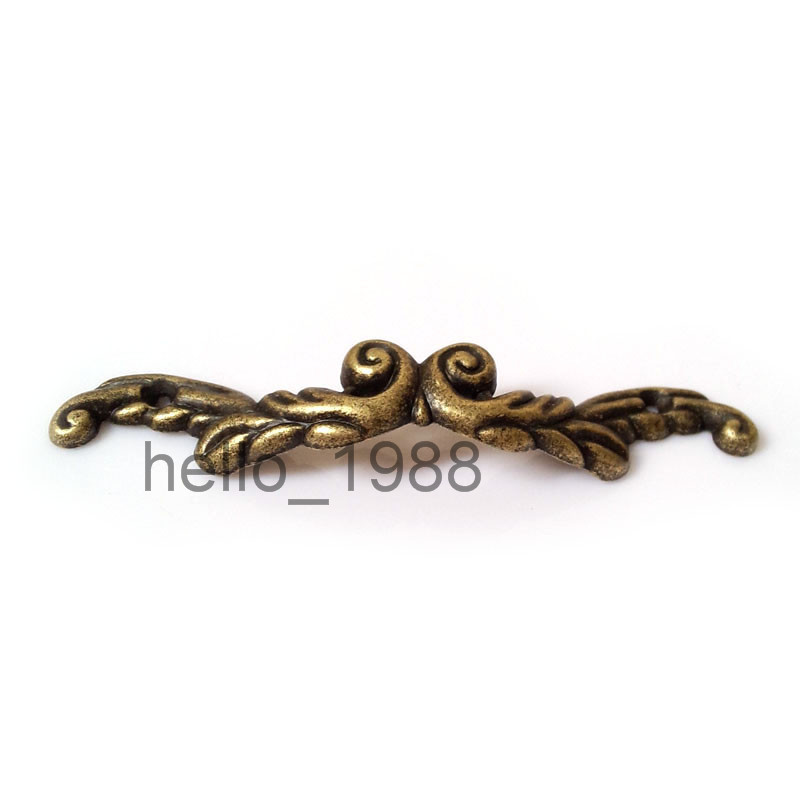 10pcs 85mm Antique Drawer Pull Jewelry Box Handle Little Box Pull