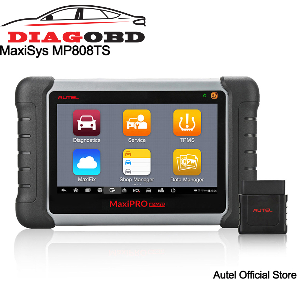 все цены на Autel MaxiPRO MP808TS Automotive Diagnostic Scanner with TPMS Service Function/Bluetooth (Prime Version of Maxisys MS906TS) онлайн
