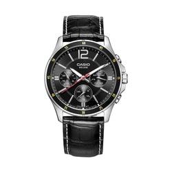Casio watch black simple quartz men's watch MTP-1374L-1A