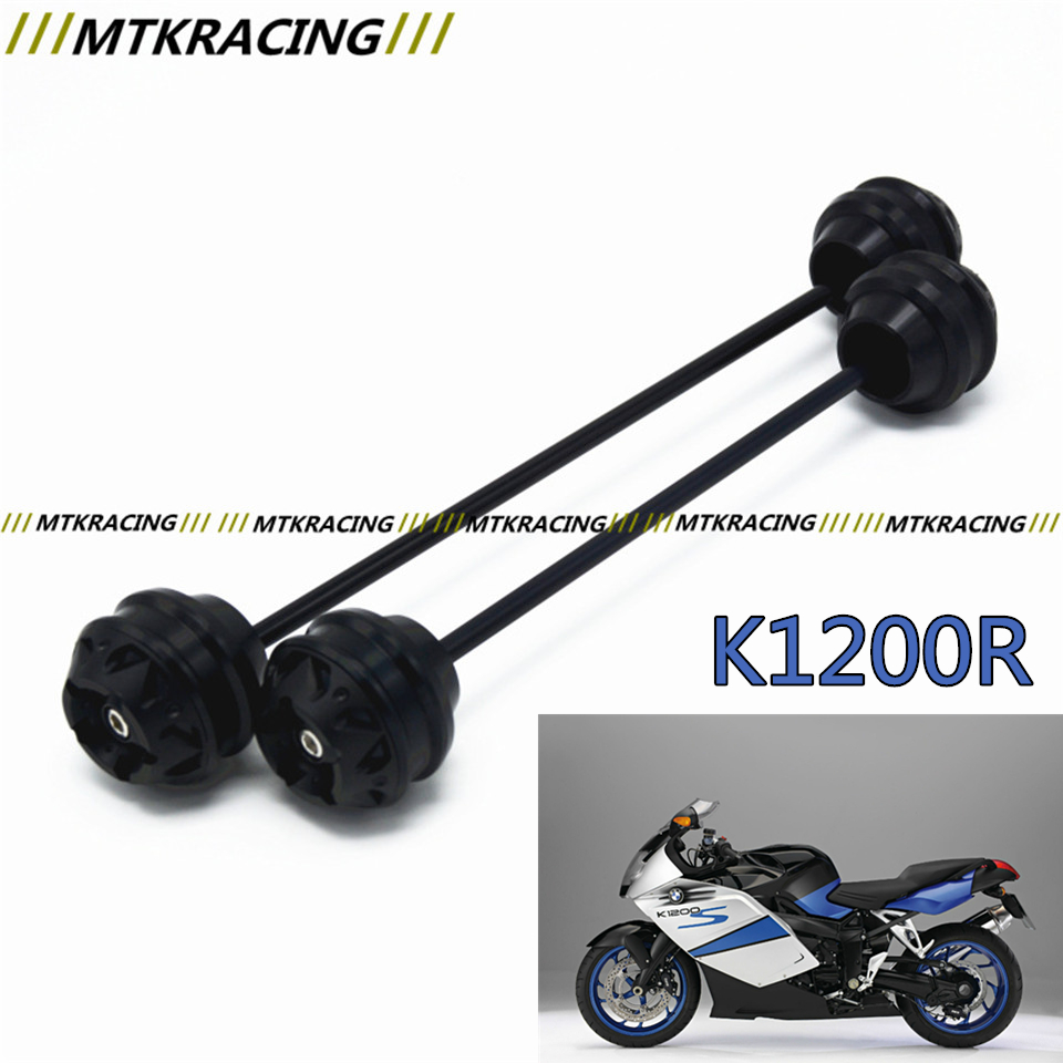 MTKRACING Free shipping for BMW K1200R 2005-2007 CNC Modified+Motorcycle Front wheel drop ball / shock absorber aftermarket free shipping motorcycle parts eliminator tidy tail for 2006 2007 2008 fz6 fazer 2007 2008b lack