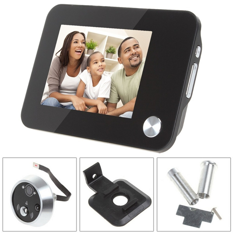3.5 TFT Digital Door Peephole Viewer Auto Photo Video Record Night Vision Motion Detect HD Doorbell Home Security Door Camera