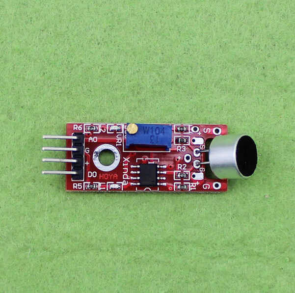 Wide Power Margin microphone sensor module KY-037 for ARDUINO