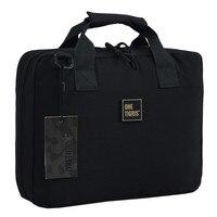 OneTigris Tactical Pistol Carry Bag Portable Modular Dual Pistol Case Holster Pouch Durable Padded Pistol Magazine