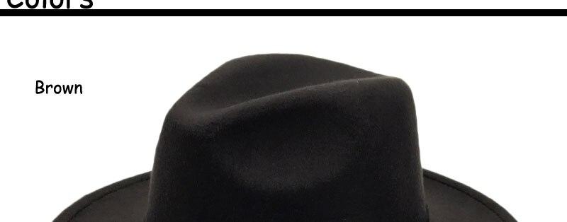 ab217d64f5168 Búho especial cinturón Fieltro sombreros mujeres vintage Trilby CAPS ...
