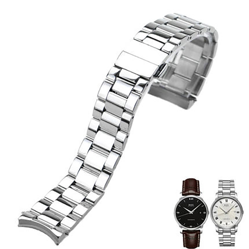 ISUNZUN 20mm Mens Watch Strap For MIDO Baroncelli M010 Watches Accessories Bracelet for MIDO M010408A Stainless Steel WatchbandISUNZUN 20mm Mens Watch Strap For MIDO Baroncelli M010 Watches Accessories Bracelet for MIDO M010408A Stainless Steel Watchband