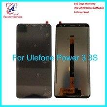 Для 100% оригинальный Ulefone мощность 3 ЖК дисплей + сенсорный экран панель Цифровой Запчасти для авто сборки 6,0 «для Ulefone S