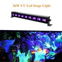 36 W UV Led Stage Light Nero Luce Par Luce Ultravioletta Led Lampada Spotligh Con DMX512 per la Discoteca del DJ Club Show Party Decoration