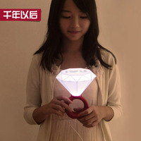 Singles creative novelty ring light romantic couples declare a special gift to send his girlfriend to marry him / product