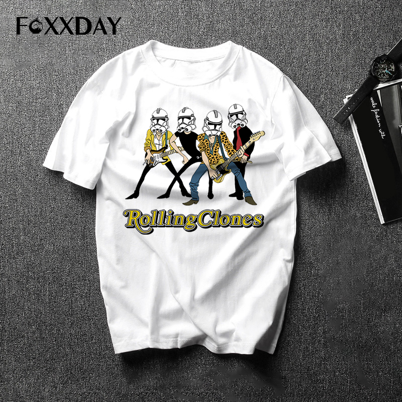Funny T shirt men's star wars t-shirt Rock Tee shirt Short Sleeve 2018 New Summer O-neck Tops Free Shipping