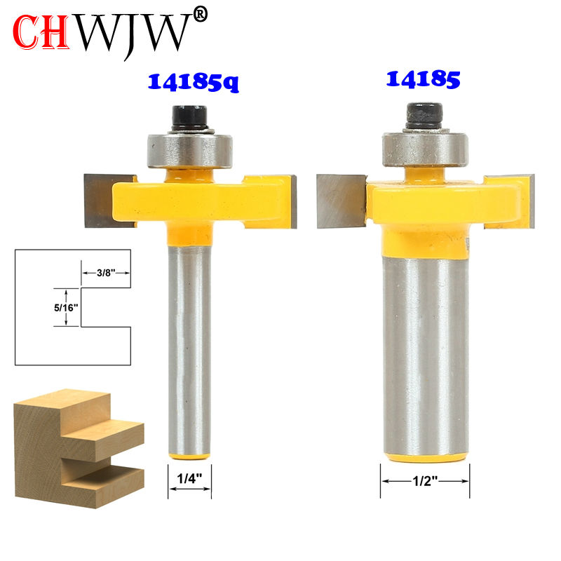 1pc 5/16 Slot Slotting & Rabbeting Router Bit - 1/4-1/2 Shank Woodworking cutter Tenon Cutter for Woodworking Tools 2 pc 1 2 sh 1 2 3 8 rabbeting