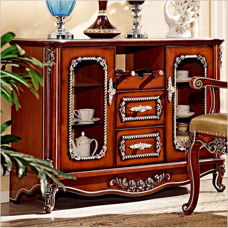 Antique en bois européen salon casier armoire à vendre pfy4003
