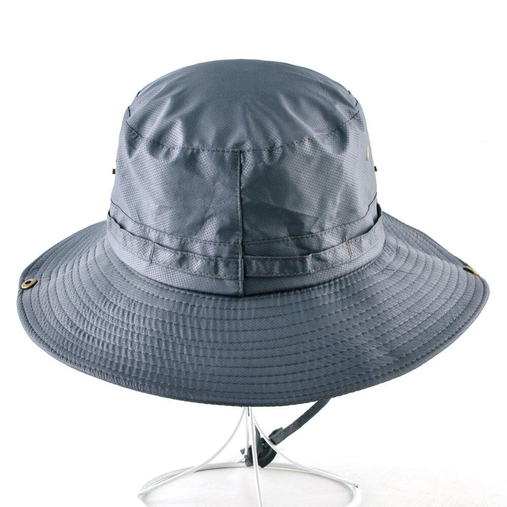 5dec8d15c3184 Aliexpress.com   Buy 2018 Fashion summer panama bucket hats for men fishing  sun hat women flat wide brim caps men bob beach cap chapeau femme from  Reliable ...