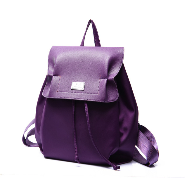 Aliexpress.com : Buy Free shipping Leather Backpack Printing ...