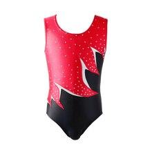 NT1710204 девочки без рукавов сделаны с тройной нитью сшивание гимнастические трико, девушки купальник для балета, танцев. Костюмы-леотарды