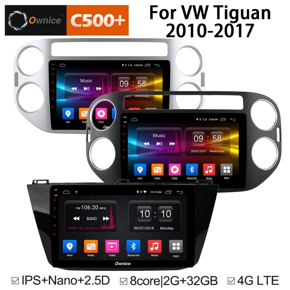 IPS Octa Core Android 8 1 Car DVD GPS For Volkswagen Tiguan 2010 2011 2012 2013