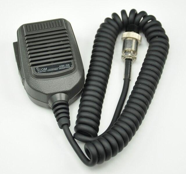 10xHand Microphone Mic Speaker HM 36 For ICOM IC 25 IC 28 IC 228 IC 718
