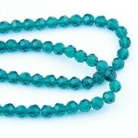Kryształ 32 Faceted Ball Koraliki 8-10mm Paw Zielony AAA Poziom Pryzmat Szklany Wisiorek Dla Dekoracji Ślubnych (720/1440 sztuk)
